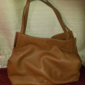 Vince Camuto Brown Leather Bag